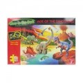 Age of the Dinosaur Glow in the Dark 100 Piece Jigsaw Puzzle