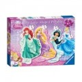 Disney Princess 4 Shaped Pzzls