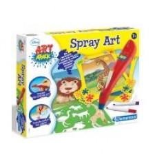 Clementoni Disney Art Attack Spray Art